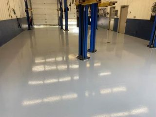 A Stain-Resistant Shop Floor on a Budget