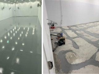 Custom Concrete Solutions provides a Seamless Floor Solution for Cannabis Growing Facility in Rocky Hill, CT